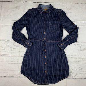 Jachs Girlfriend Eda button down shirt dress H22